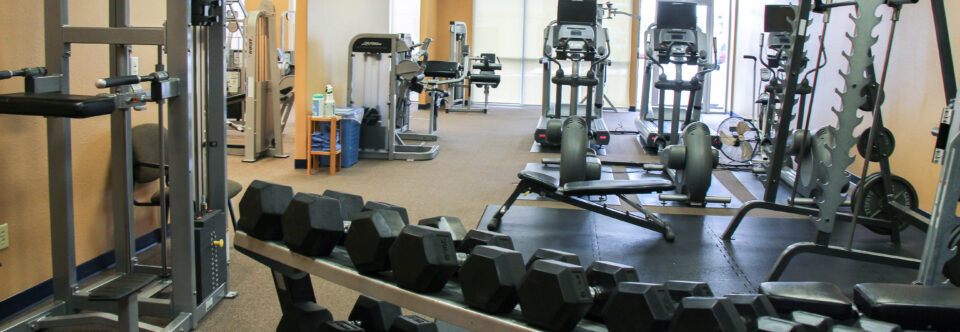 AIM Fitness is designed as a medically-oriented gym.